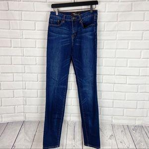 BDG high rise cigarette dark wash jeans 31